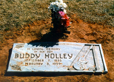 Lápida de Buddy Holly