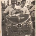 Mi padre y Santiago Auserón