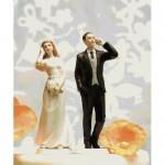 Muñecos para las tartas de boda