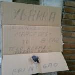 Mensaje en un cartón (IX)