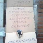 Mensaje en un cartón (VIII)