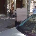 Mensaje en un cartón (XVIII)