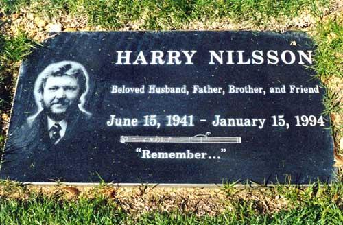 Lápida de Harry Nilsson