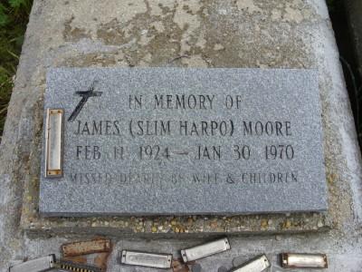 Lápida de Slim Harpo