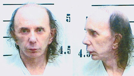 Ficha policial Phil Spector