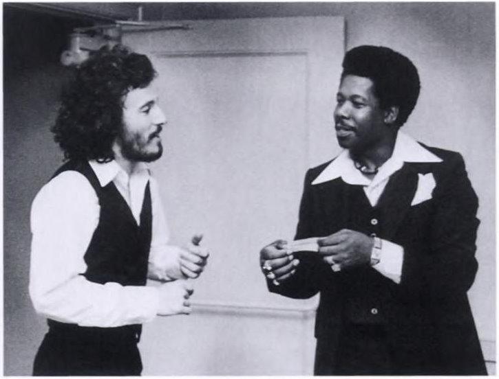 Bruce Springsteen y Eddie Floyd