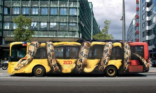 Autobús del zoo de Copenhague
