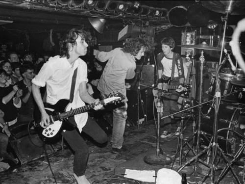 El grupo REM en 1983