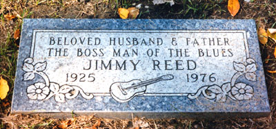 Tumba de Jimmy Reed