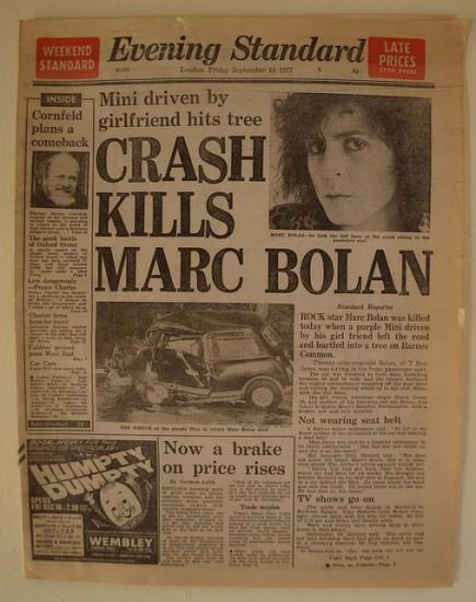 Bolan Car Crash