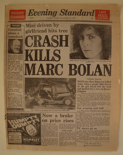 Bolan Car Crash