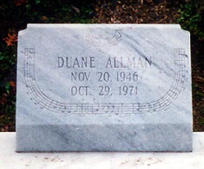 Tumba de Duane Allman