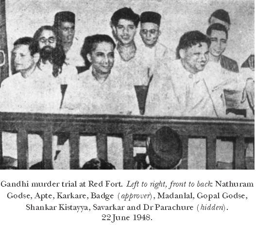 juicio a los asesinos de gandhi