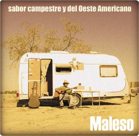"""Portada del disco de Maleso, """"sabor campestre"""""""