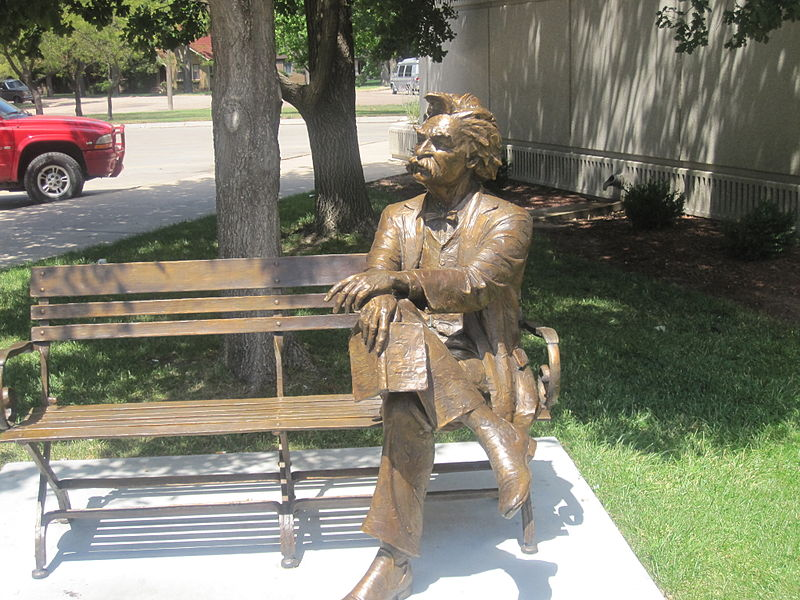 Estatua de Mark Twain