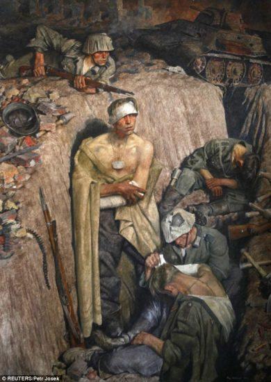 Recuerdo de Stalingrado - Franz Eichhorst