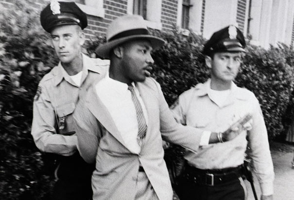 martin-luther-king es arrestado
