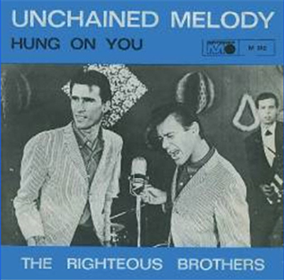 Carátula de righteous brothers - unchained melody single