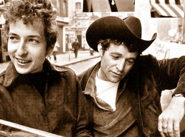 Ramblin' Jack Elliot y Bob Dylan