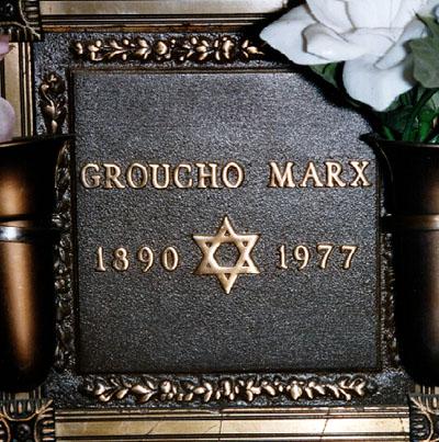 Lapida de Groucho Marx