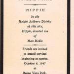 El entierro del hippie