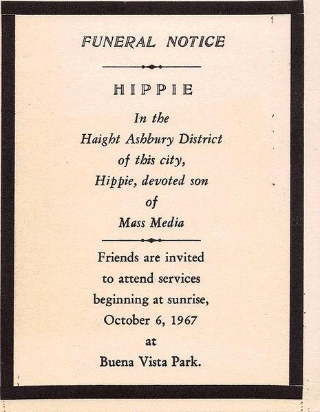 Death of hippie