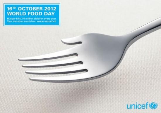 unicef dia mundial de los alimentos 2012