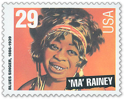 Ma Rainey Stamp