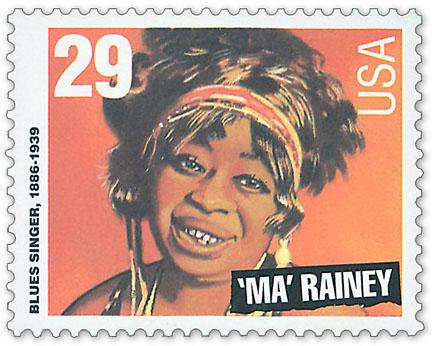 Ma Rainey Stamp