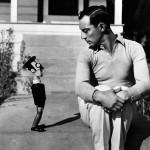 Buster Keaton con su muñeco