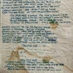 La letra de «London calling» escrita por Joe Strummer
