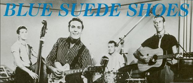Blue suede shoes Sun Records